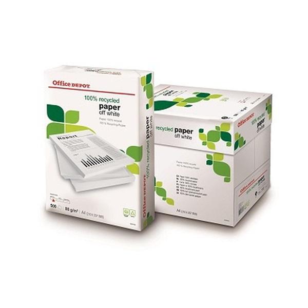 Office Depot Recycled A4 80g krémfehér másolópapír - 1