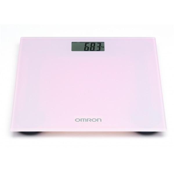 Omron HN289 rózsaszín digitális személymérleg - 1