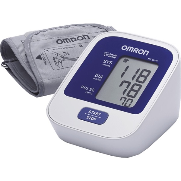 Omron M2 BASIC intellisense felkaros vérnyomásmérő - 1