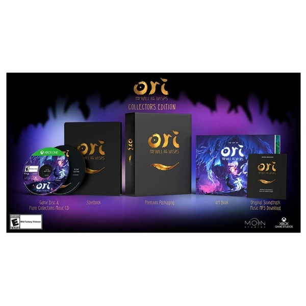 Ori and the Will of the Wisps Collector`s Edition Xbox One játékszoftver - 2