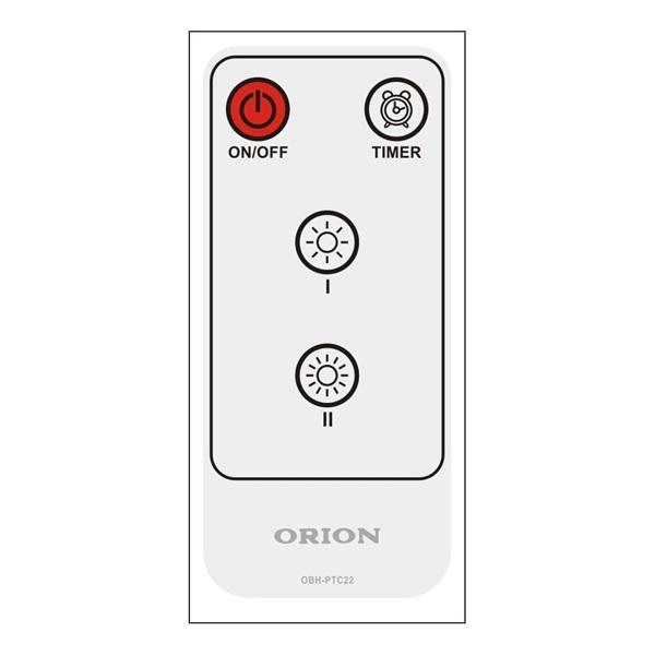 Orion OBH-PTC22 kerámiabetétes fürdőszobai hősugárzó - 2