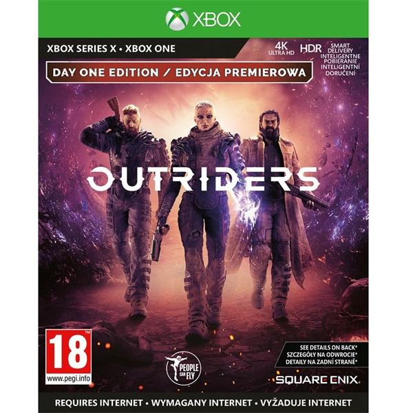 Outriders Deluxe Edition Xbox One játékszoftver - 1