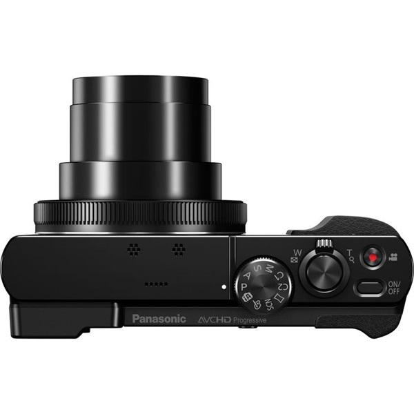 Panasonic DMC-TZ70EP-K Fekete digitális fényképezőgép - 4