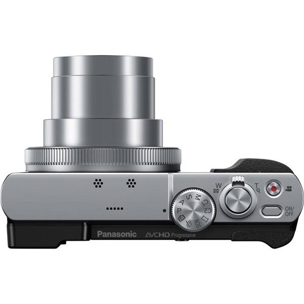 Panasonic DMC-TZ70EP-S Ezüst digitális fényképezőgép - 4