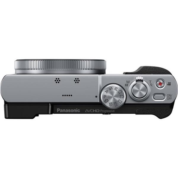 Panasonic DMC-TZ70EP-S Ezüst digitális fényképezőgép - 5