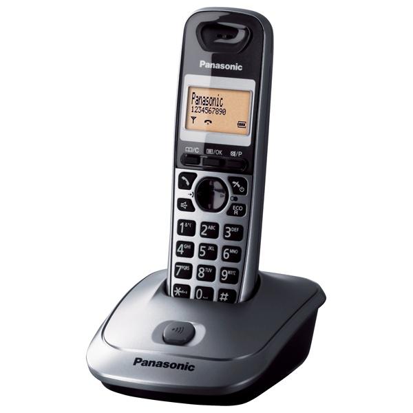 Panasonic KX-TG2511HGM kihangosítható hívóazonosítós metálszürke dect telefon - 1
