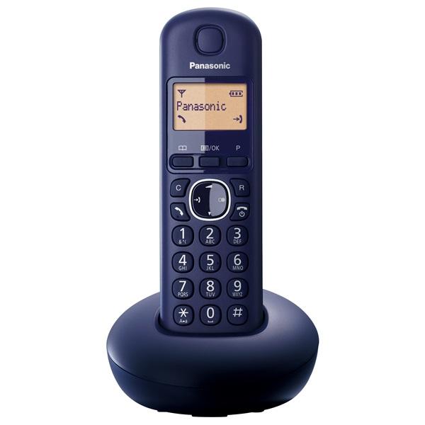 Panasonic KX-TGB210HGB fekete dect telefon - 2
