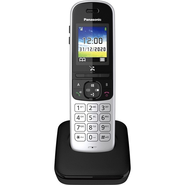 Panasonic KX-TGH710PDS ezüst dect telefon - 1