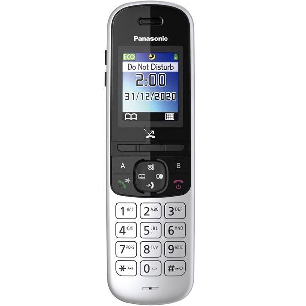 Panasonic KX-TGH710PDS ezüst dect telefon - 3