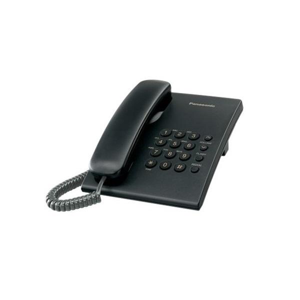 Panasonic KX-TS500HGB fekete vezetékes telefon - 1