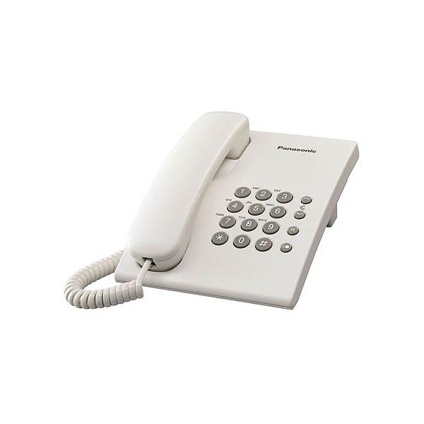 Panasonic KX-TS500HGW fehér vezetékes telefon - 1