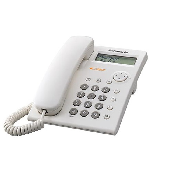 Panasonic KX-TSC11HGW hívóazonosítós fehér vezetékes telefon - 1