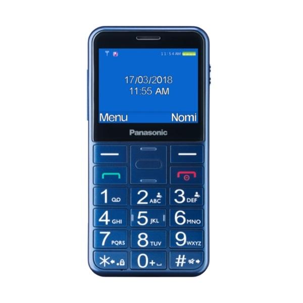 Panasonic KX-TU150 2,4 kék mobiltelefon - 1