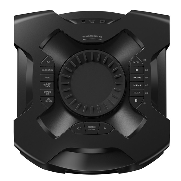 Panasonic SC-TMAX10E-K fekete Bluetooth party hangszóró - 5