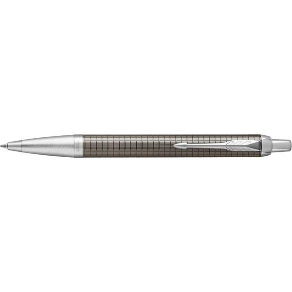 Parker Royal IM Premium ezüst klipsz sötét barna cizellált golyóstoll - 2