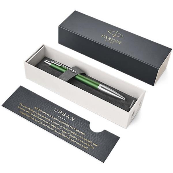 Parker Royal Urban Premium ezüst klipsz zöld golyóstoll - 2