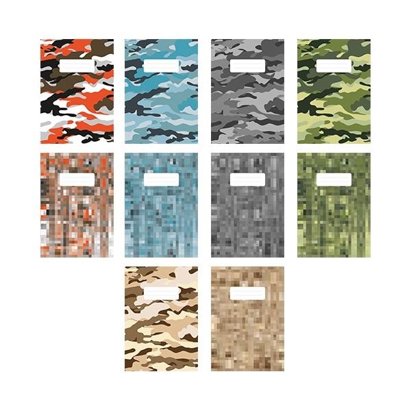 Pátria Design Camouflage A5 vonalas vegyes színű füzet - 1