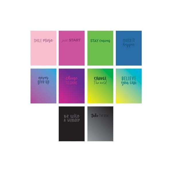 Pátria Design Phrase A4 40lapos kockás füzet - 1