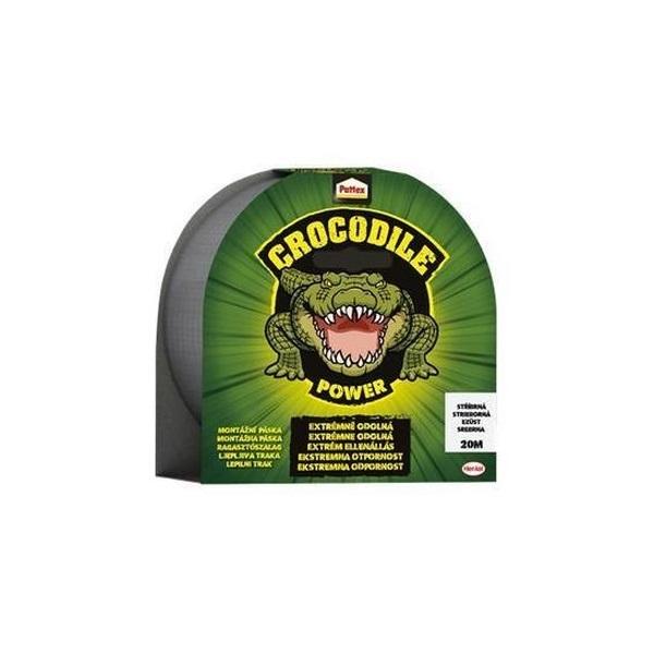 Pattex Crocodile 20mx48mm ezüst ragasztószalag - 1