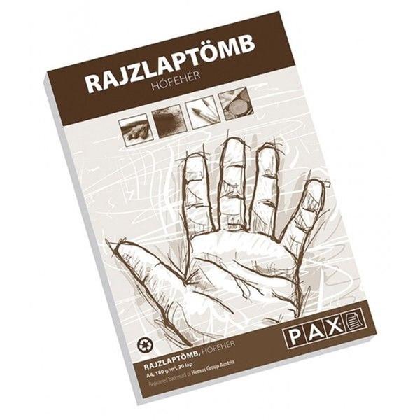 Pax A4 20db hófehér rajztömb - 1