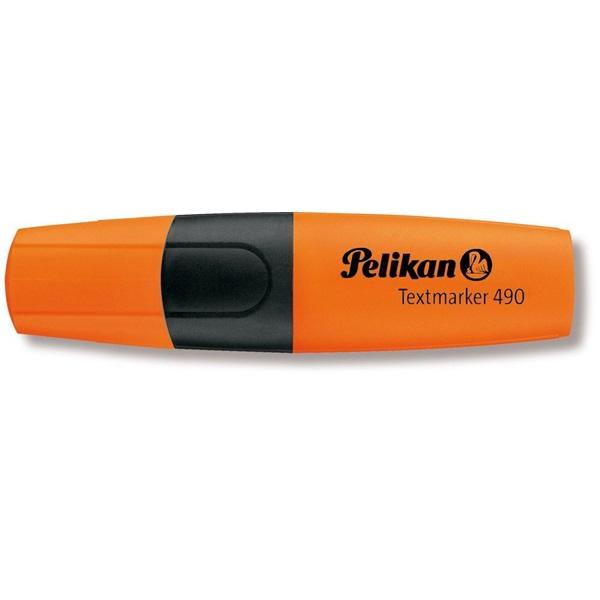 Pelikan 490 narancssárga szövegkiemelő - 1