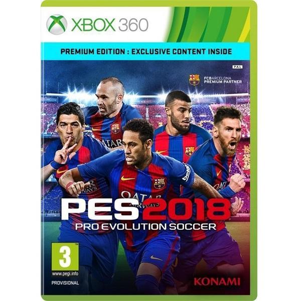 PES 2018 Premium Edition Xbox 360 játékszoftver - 1