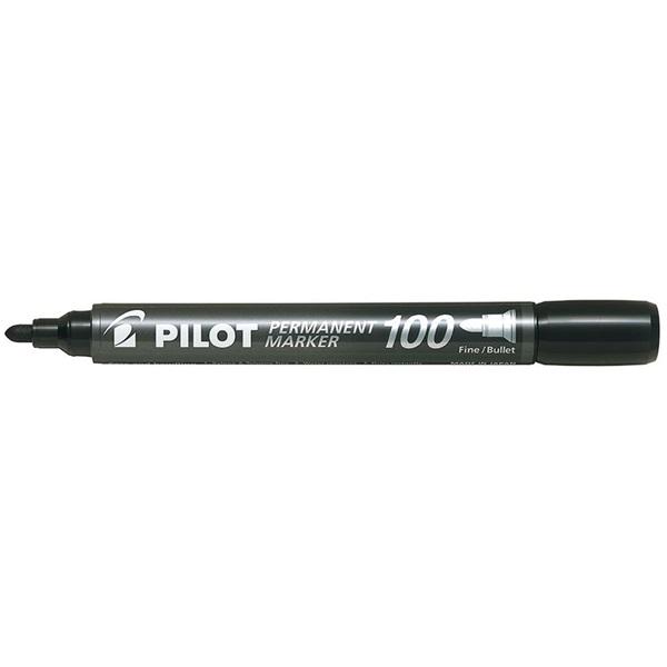 Pilot Pilot gömb hegyű fekete alkoholos filc - 1