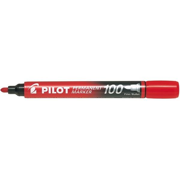 Pilot Pilot gömb hegyű piros alkoholos filc - 1
