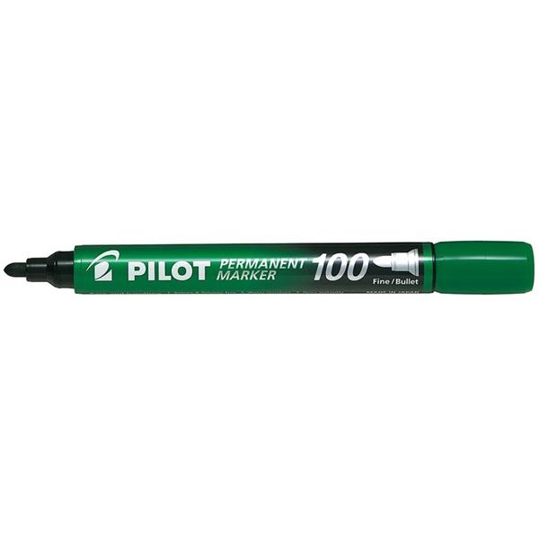Pilot Pilot gömb hegyű zöld alkoholos filc - 1
