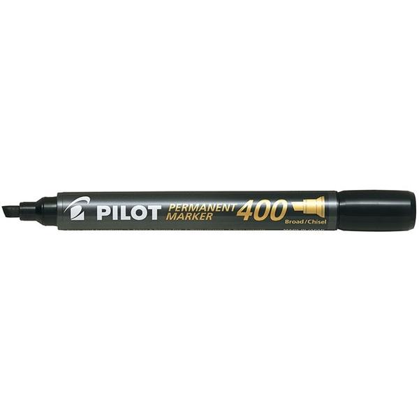 Pilot Pilot vágott hegyű fekete alkoholos filc - 1