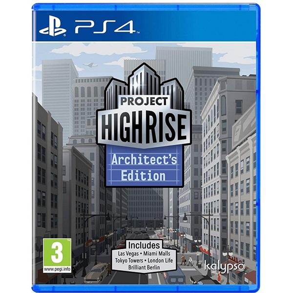 Project Highrise Architect Edition PS4 játékszoftver - 1