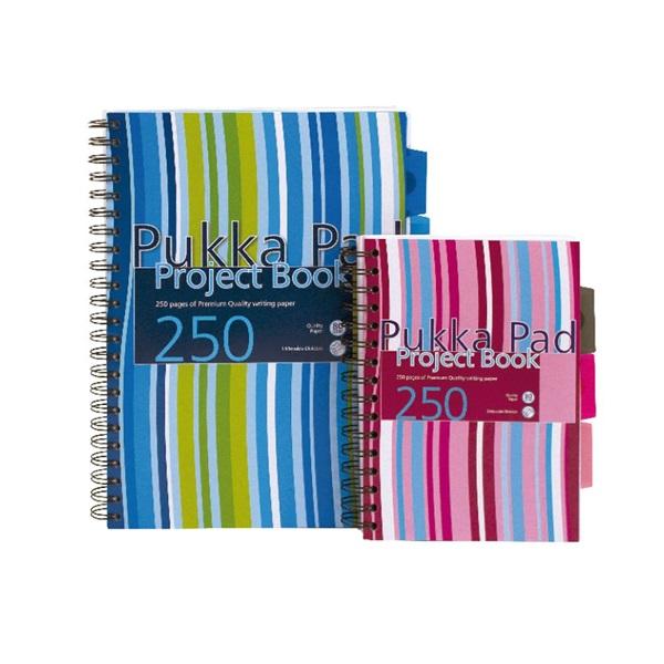 Pukka Pad Project Book A4 125lapos vonalas spirálfüzet - 1