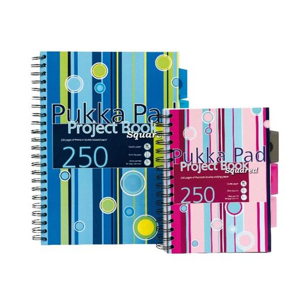 Pukka Pad Project Book A5 125lapos kockás spirálfüzet - 1