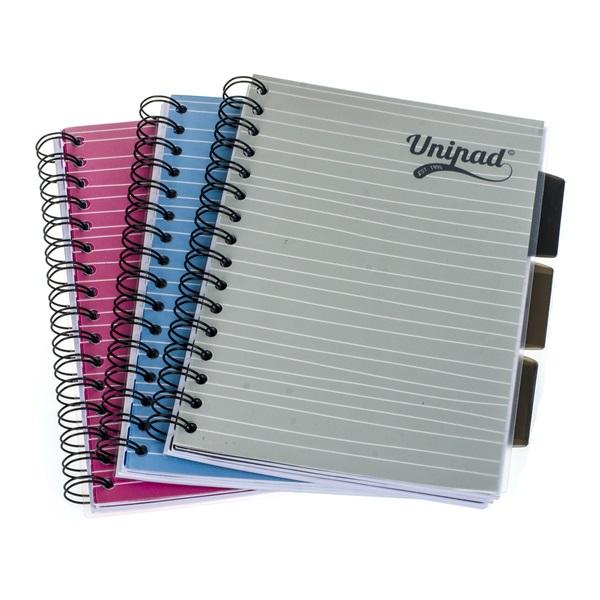 Pukka Pad Project Book Unipad A5 200 oldalas vonalas spirálfüzet - 1