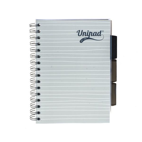 Pukka Pad Project Book Unipad A5 200 oldalas vonalas spirálfüzet - 2