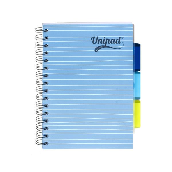 Pukka Pad Project Book Unipad A5 200 oldalas vonalas spirálfüzet - 4