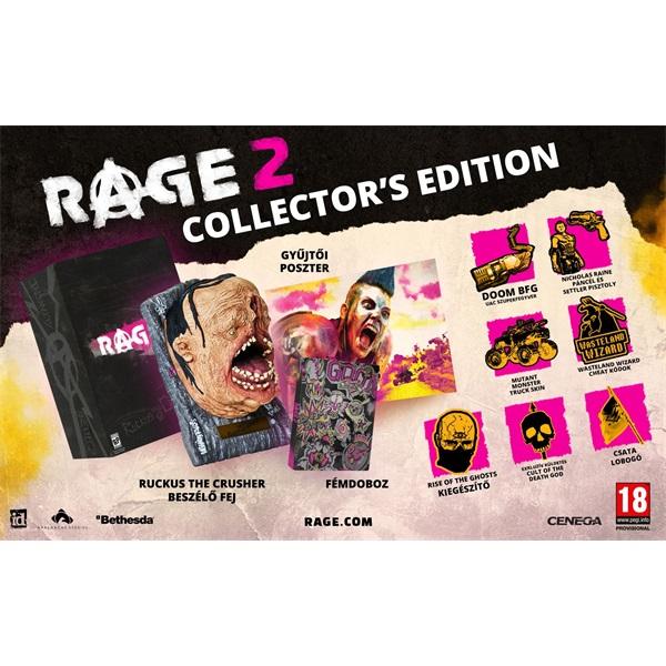 Rage 2 Collector`s Edition XBOX One játékszoftver - 1