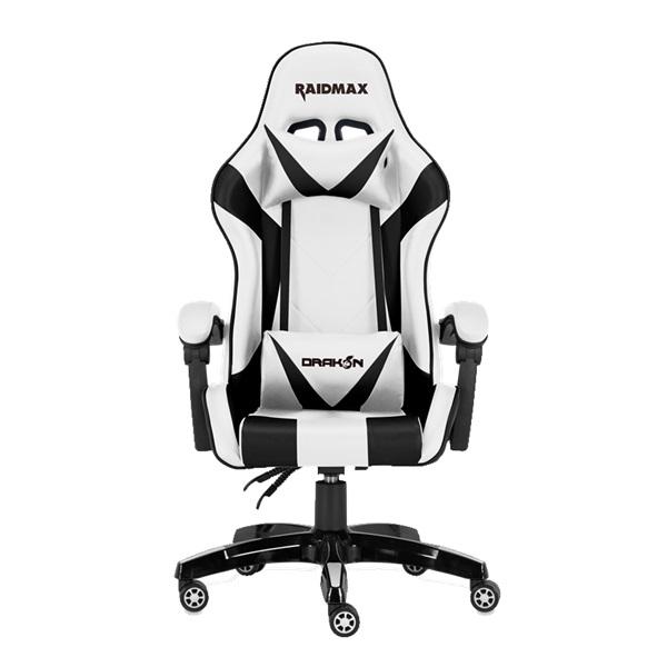 RAIDMAX Drakon DK602 fehér gamer szék - 1