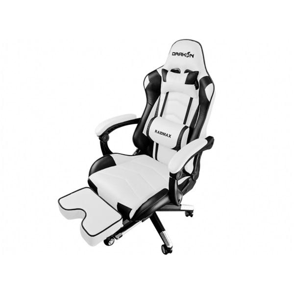 RAIDMAX Drakon DK709 fehér / fekete gamer szék - 1