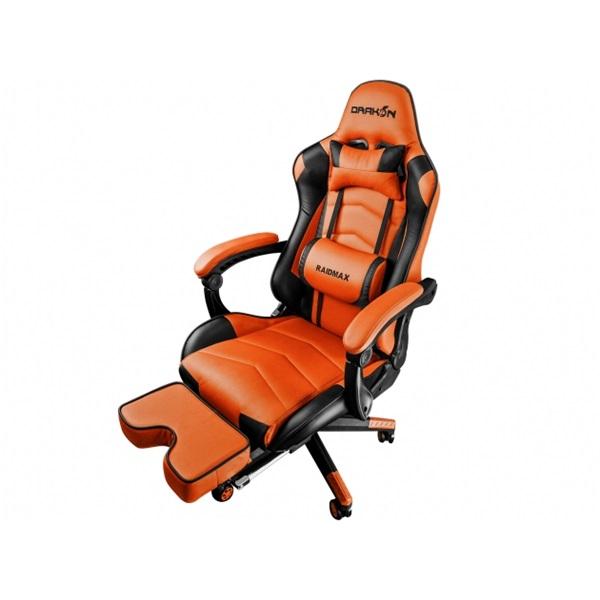 RAIDMAX Drakon DK709 narancssárga / fekete gamer szék - 1