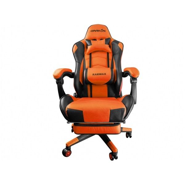RAIDMAX Drakon DK709 narancssárga / fekete gamer szék - 4