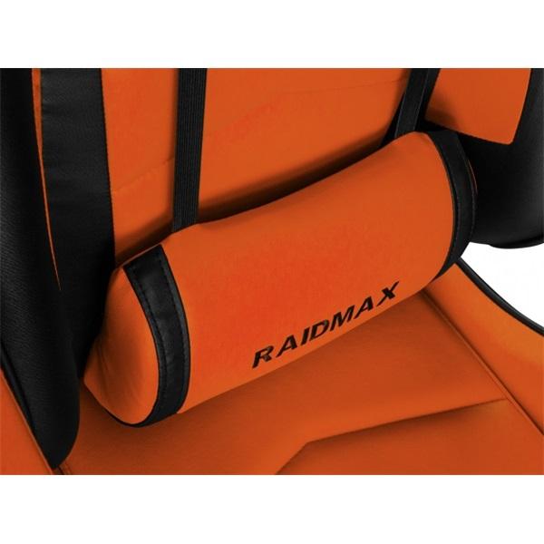 RAIDMAX Drakon DK709 narancssárga / fekete gamer szék - 5