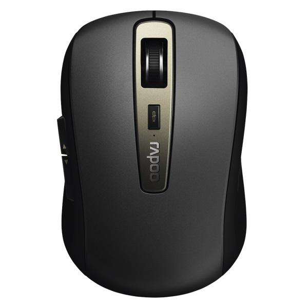 """Rapoo MT350"""" Bluetooth fekete lézeres egér - 1"""