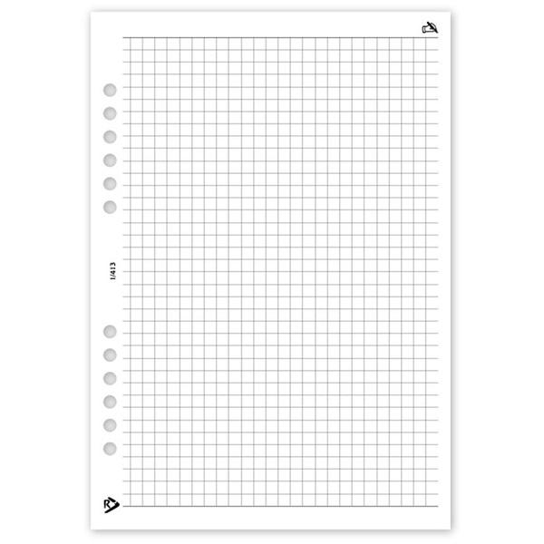Realsystem 2021-es 1/413 négyzethálós jegyzet gyűrűs naptár kiegészítő - 1