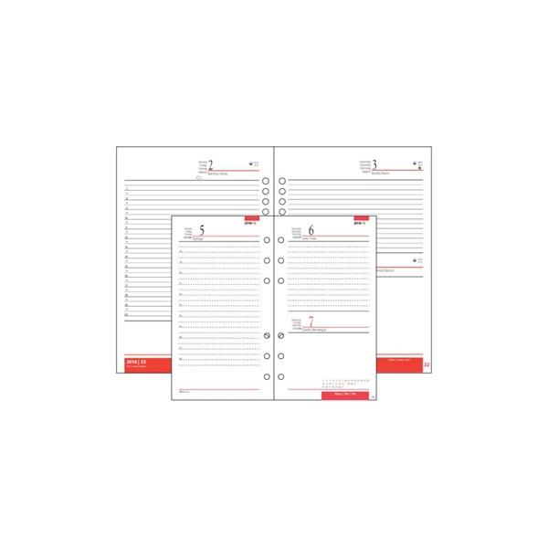 Realsystem 2021-es 2/401 éves napi beosztású gyűrűs naptár kiegészítő - 2