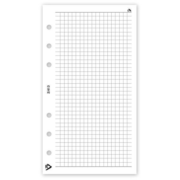Realsystem 2021-es 2/413 négyzethálós jegyzet gyűrűs naptár kiegészítő - 1