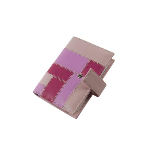 Realsystem 2021-es 3/191 S műbőr rózsaszín gyűrűs kalendárium - 1