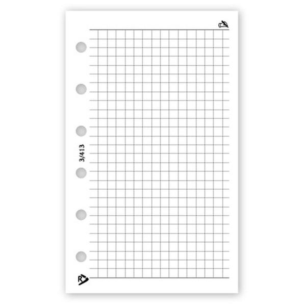 Realsystem 2021-es 3/413 négyzethálós jegyzet gyűrűs naptár kiegészítő - 1
