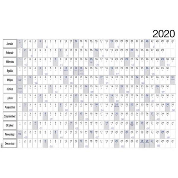 Realsystem 2021-es 6051 álló/fekvő plakátnaptár - 1