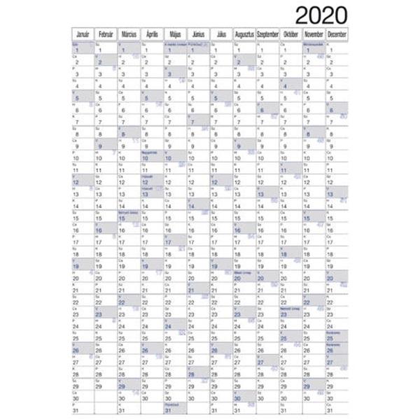Realsystem 2021-es 6051 álló/fekvő plakátnaptár - 2